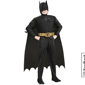 Boys Batman Muscle Deluxe Costume The Dark Knight